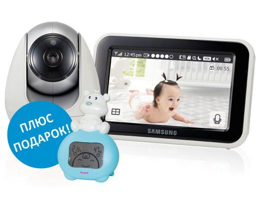 видеоняня Samsung SEW-3053WP c  подароком
