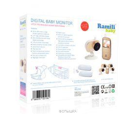 Видеоняня  Ramili Baby RV1200SP2 с монитором дыхания